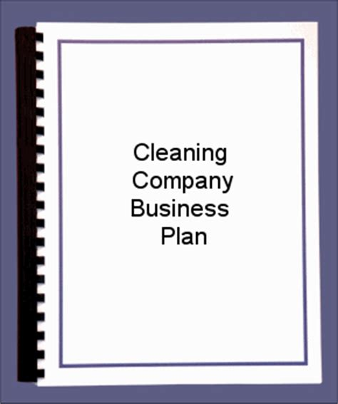 Cleaning Service Business Plan